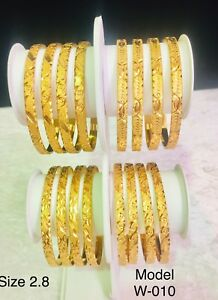 Image Is Loading Gold Plated Bangles Indian Bollywood Style Est Price