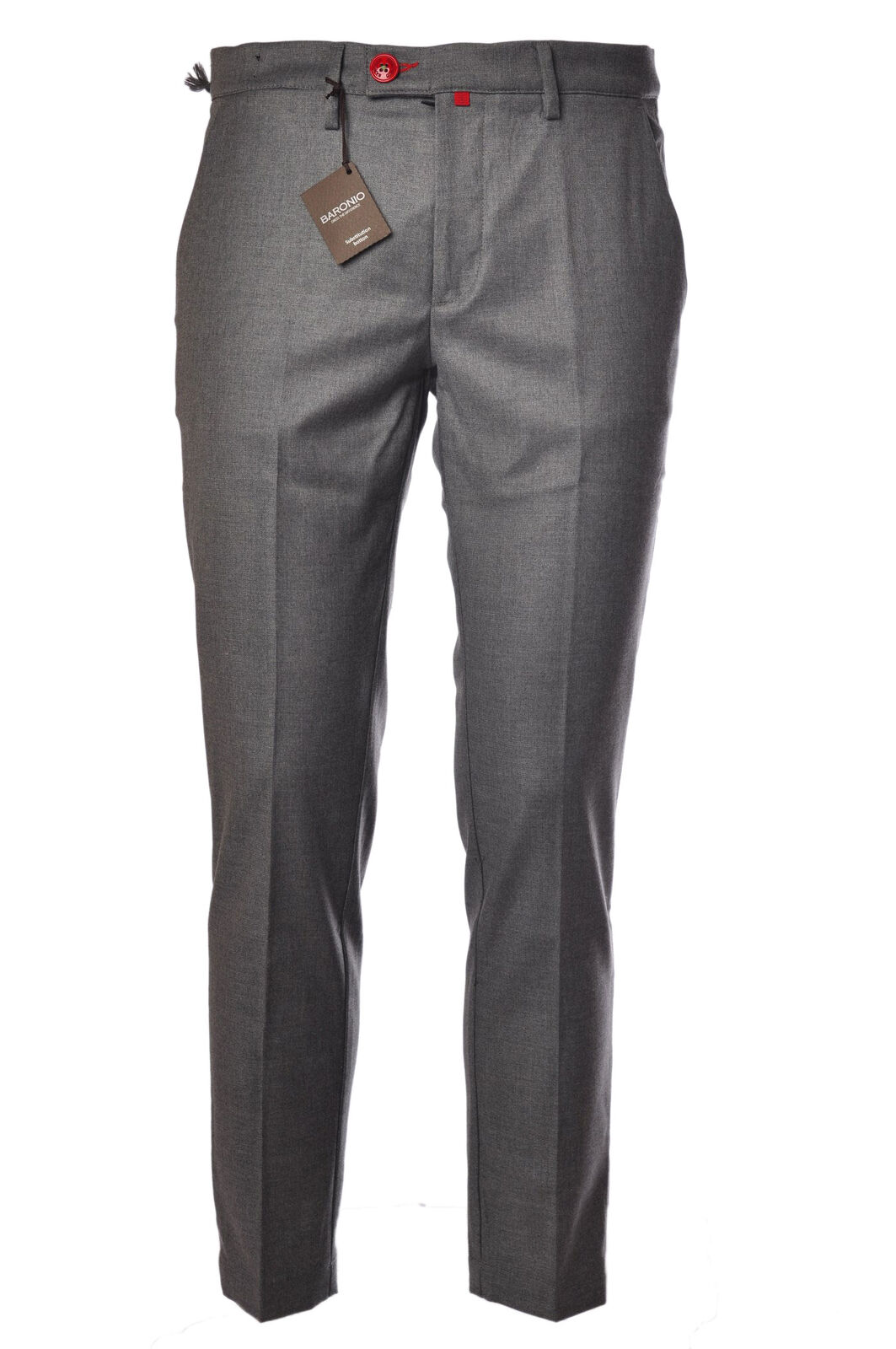 Baronio  -  Pants - Male - Grey - 382027A184348