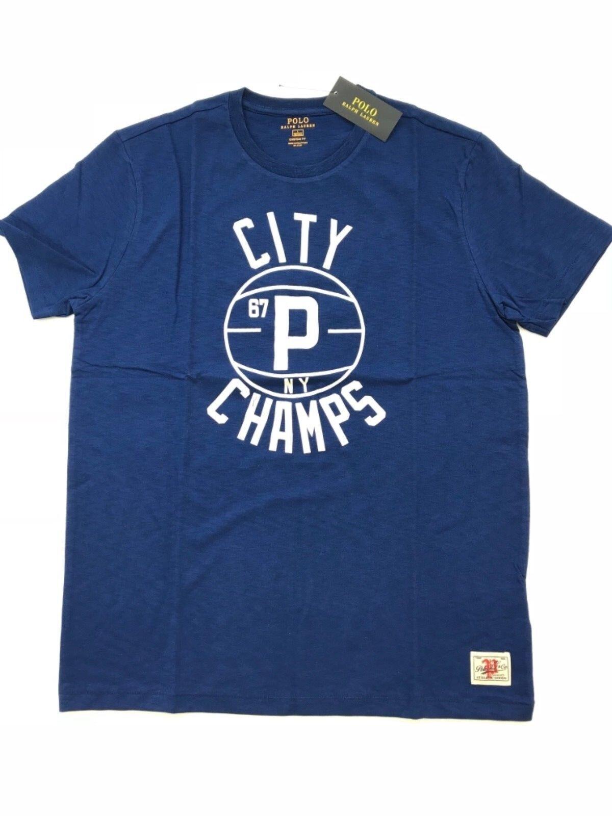 RALPH LAUREN bluee City Champs - Size   Medium - bluee