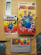 Super Famicom J.League Soccer: Prime Goal JAPAN NTSC-J snes sfc SHVC-JE Namco