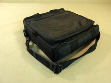 Standard 13 Inch Laptop Bag Padded Black One Exterior Pouch Shoulder Strap Nylon
