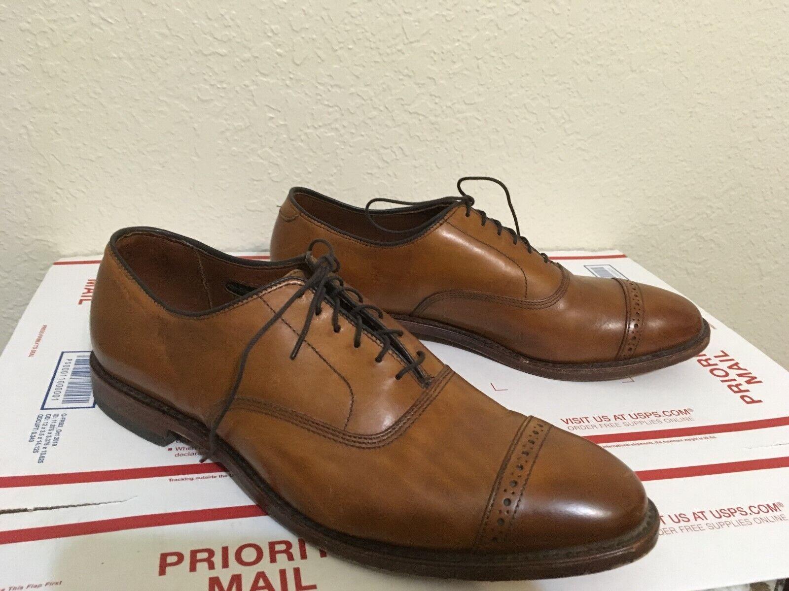 ALLEN EDMONDS FIFTH AVENUE Marrón Zapatos de negocios de alimentación Vintage 11C