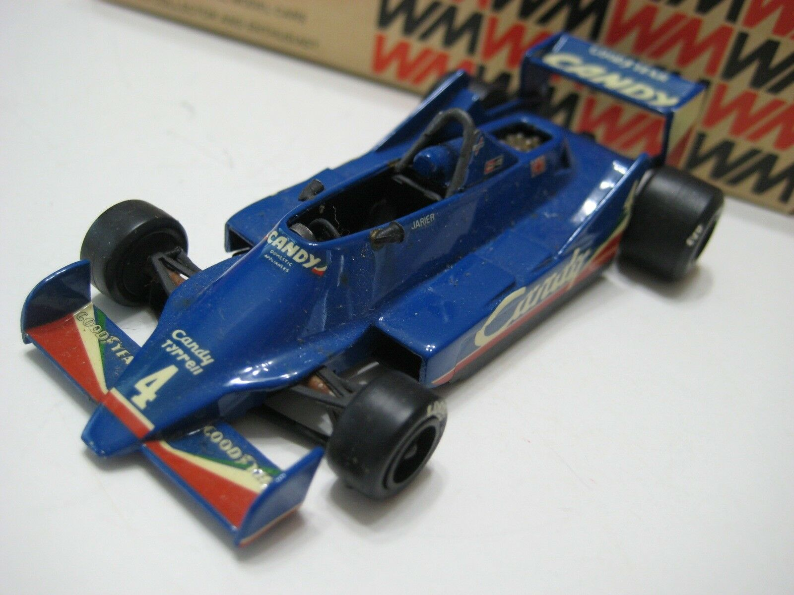 Western Models (England) bluee Tyrrell 009 Candy '79 Diecast 1 43 in Original Box