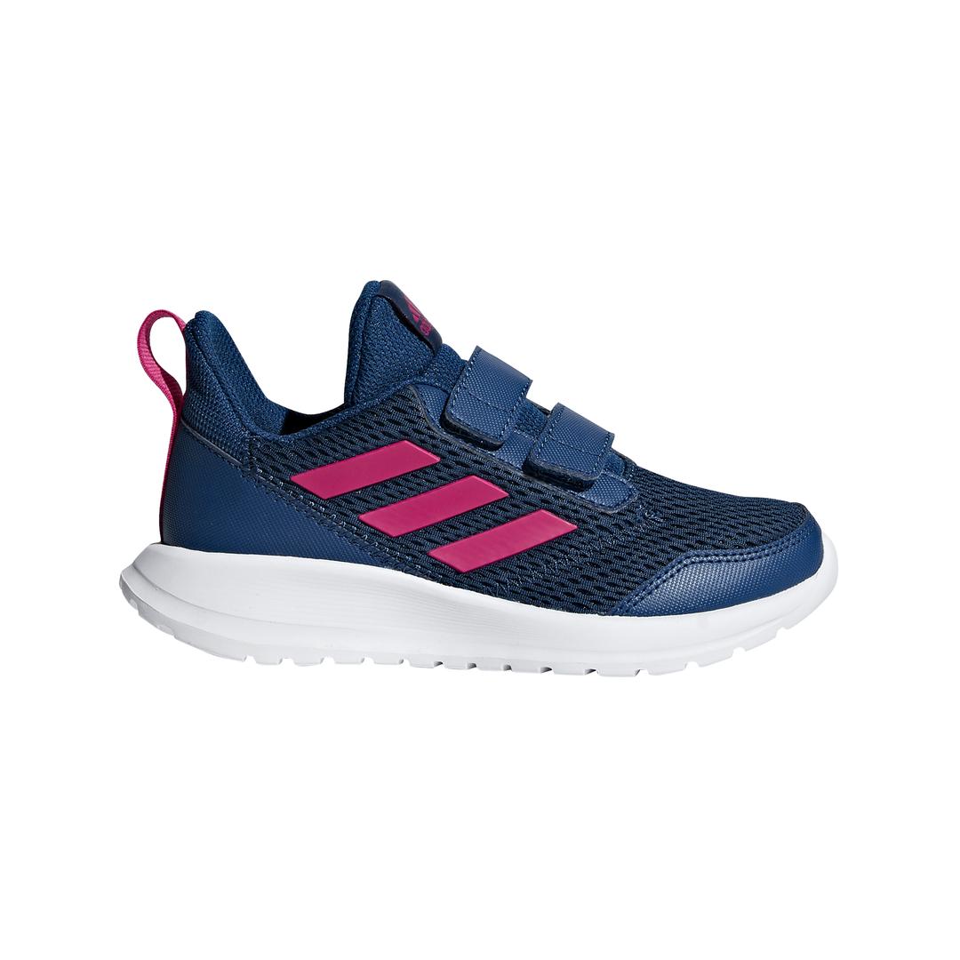 adidas Kids Shoes Girls Running Hyperfast 2.0 CF Eco Ortholite AQ3856