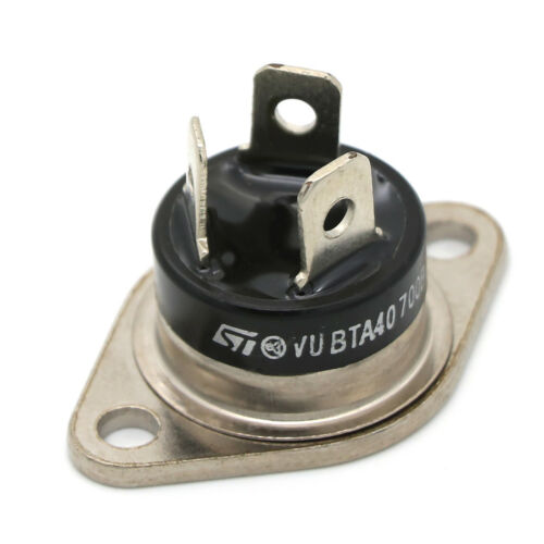 1Pcs roundness triac BTA40 700B 700V 40A ic new and high quality XJ