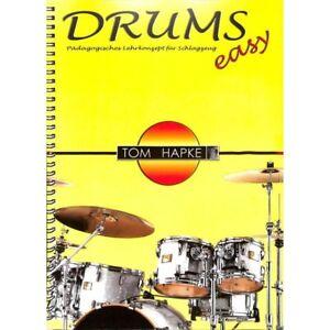 Drums-Easy-1-Schlagzeug-Musiknoten-von-Hapke-Tom