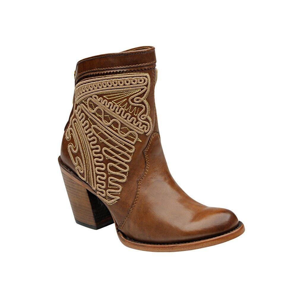 Señora botas de vaquero Western botas regaIan cuadra (hecha a mano) 1z25vg