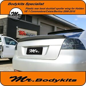 Rear-Boot-Spoiler-Ducktail-Wing-Holden-VE-1-SS-SV6-Evoke-Calais-Berlina-553