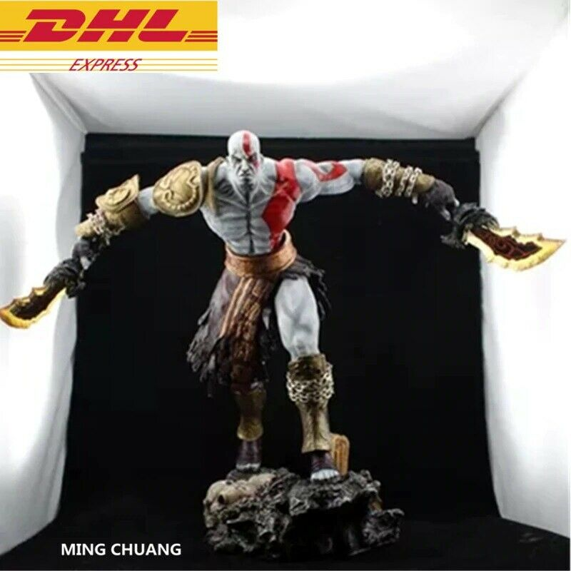 1 6 12  Statue God of War Kratos Bust Ghost of Sparta Action Figure Collectible