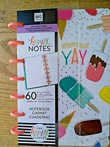 Details about Me \u0026 My Big Ideas MINI Happy Notes 60 Dot Grid Pages Notebook  Everyday Yay 4.6x7