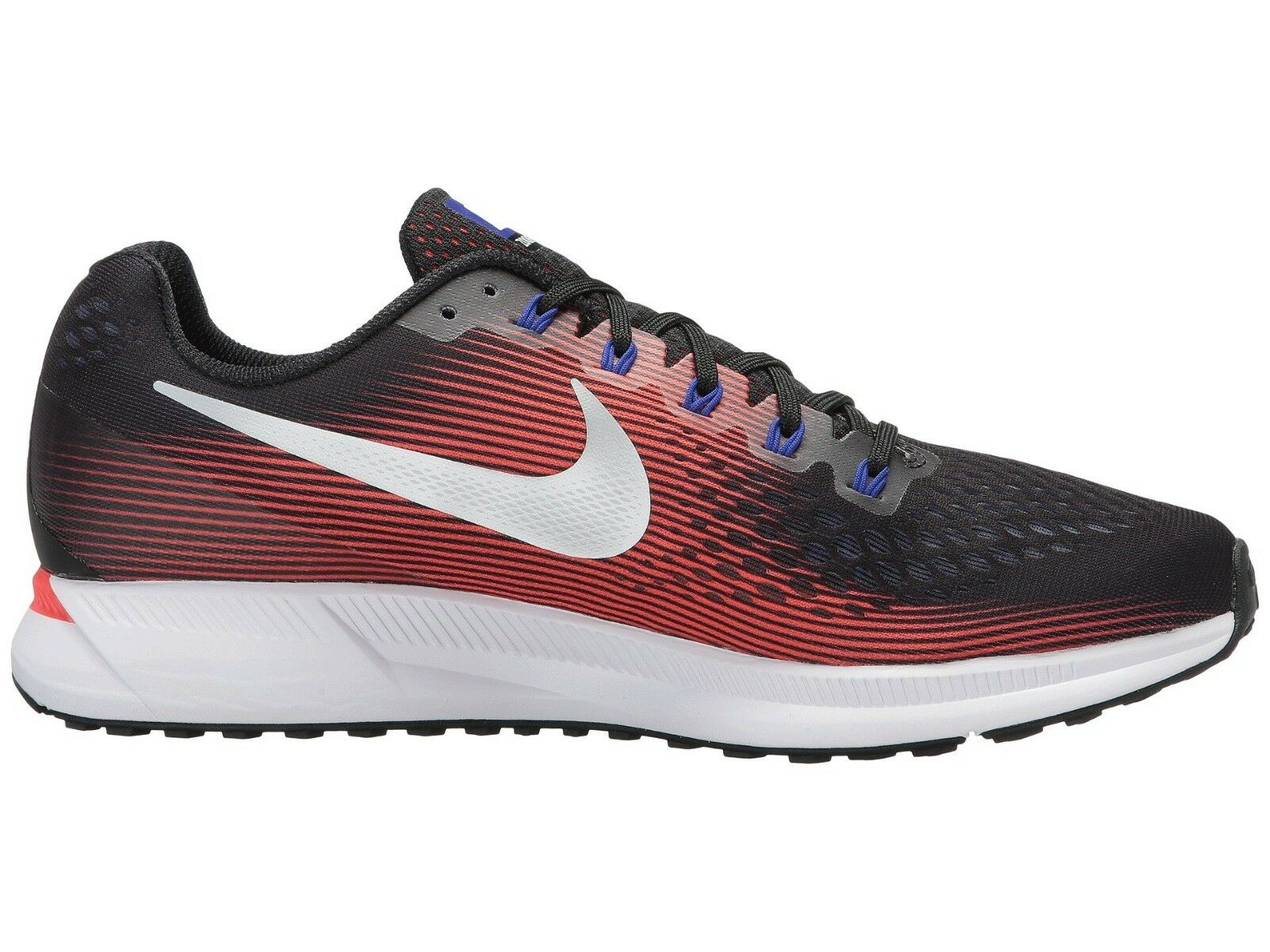 Men's Nike Zoom Pegasus 34 Running Running Running shoes, 880555 006 Multi Sizes Black Met Silve 9db306