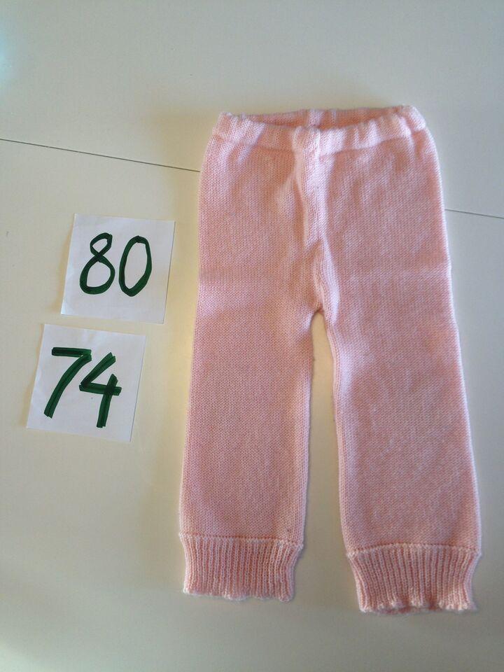 Sæt, NYT strikket sæt med trøje og bukser, Hjemmelavet