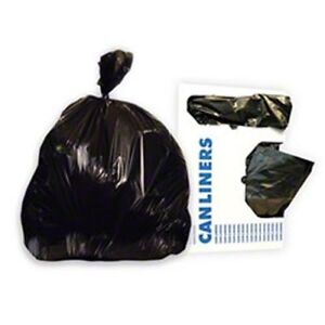 Image Is Loading Strength Trash Bags Black 10 Gallon Office
