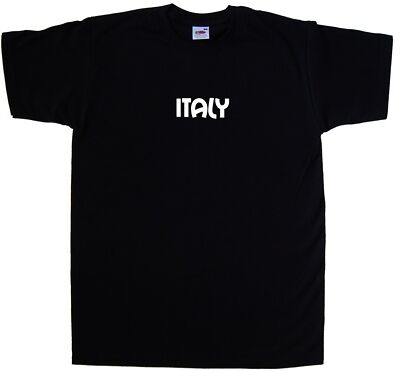 Italy text T-Shirt