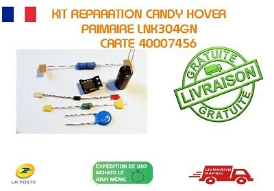 1 Kit  reparation Carte 475540 Invensys viper12A   lave linge CANDY HOOVER