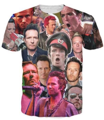 New Fashion pour femme//homme Scott Weiland hommage 3D Imprimer Casual T-shirt UBB277
