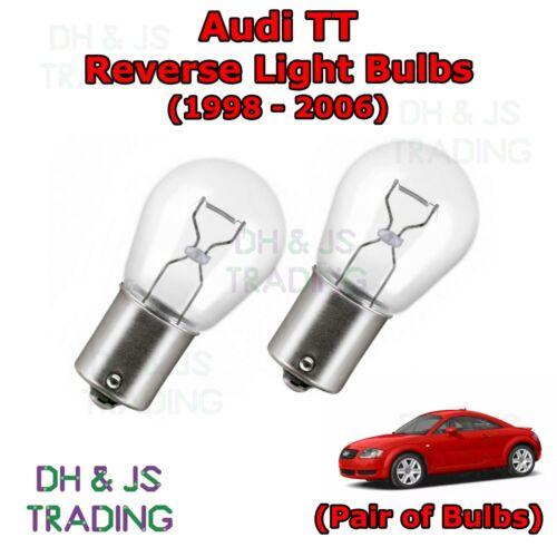98-06 Lights Bulbs Rear 382 12v 21w Audi TT Mk1 Reverse Light Bulbs