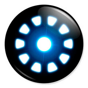 Iron-Man-Arc-Reactor-25mm-1-034-Pin-Badge-Button-Marvel-Superhero-Robert-Downey-Jr