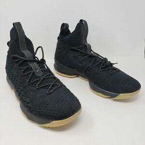 Nike LeBron 15 XV Black Gum RARE 897648