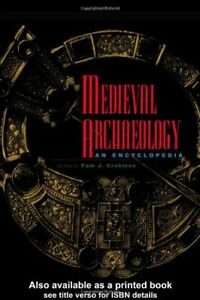 Medieval-Archaeology-An-Encyclopedia-Hardcover-P-Crabtree
