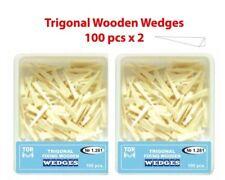 Dental Trigonal Fixing Wooden Wedges For Matrices 200 Pcs Tor Vm