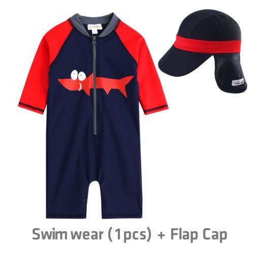 """NWT Vaenait Baby Infant Boys Toddler Swimwear Bathing Suit /""""Baby Tucuxi/"""" 6M-24M"""