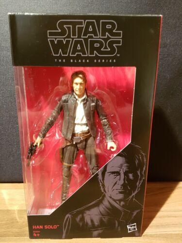 "Star Wars The Black Series Han Solo  6/"" Figure Hasbro New 18"