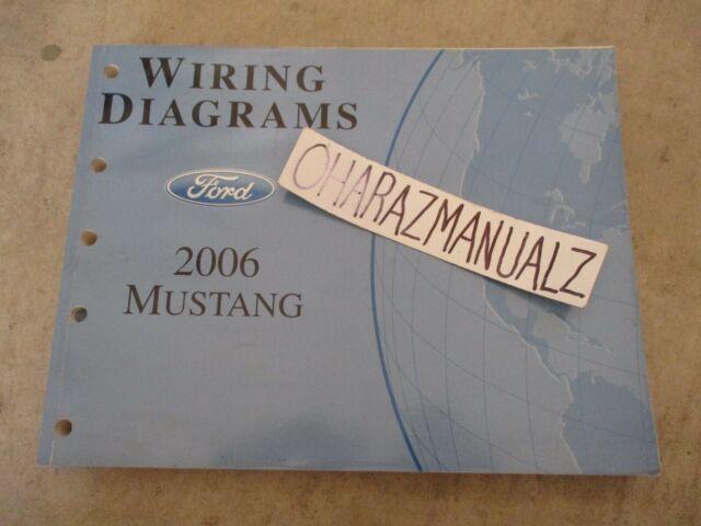 2001 Ford Mustang Service Manual Set   Wiring Diagrams