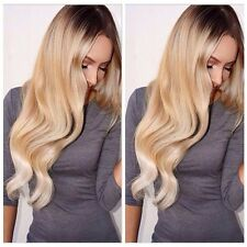 Long Body Wave Women's Fashion Blond Ombre heat resistant Wigs Hot Cosplay Hair