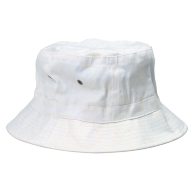 553baee9efbe ... get hunter s thompson white bucket hat fear and loathing in las vegas  raoul duke 9619c
