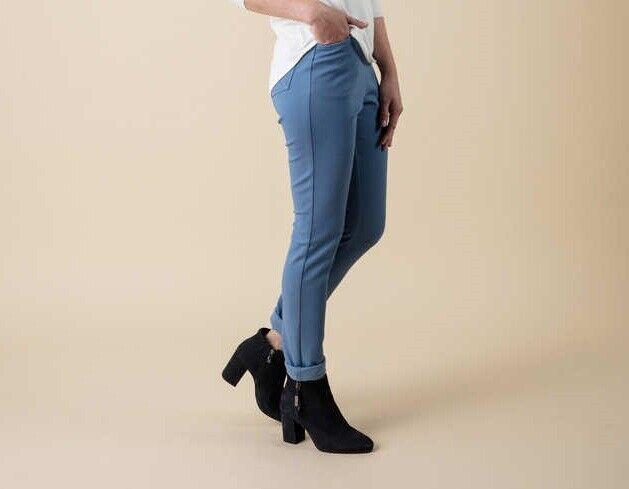 1.4775 Designer Jersey-Denim-Schlupfhose