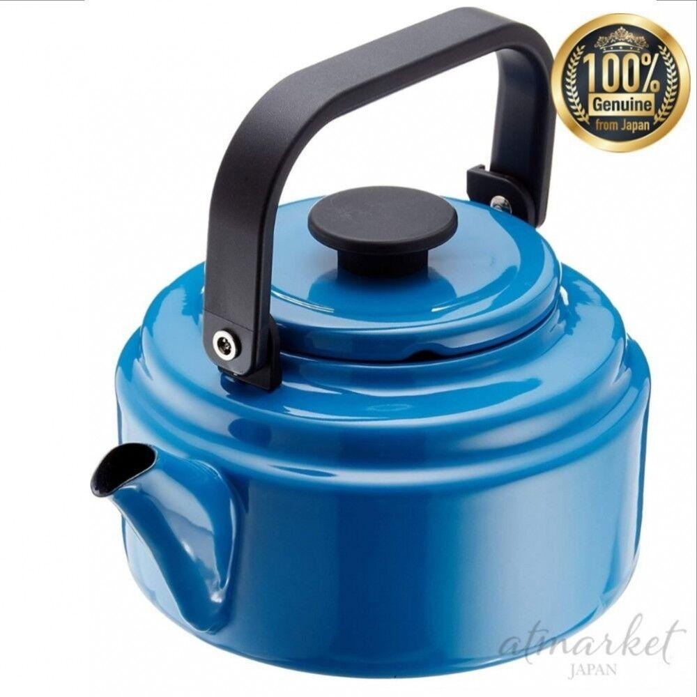 Noda émail Amkettle électromagnétique Cuisinière Compatible 2.0 L Bleu AM-20 K