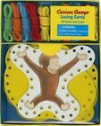 Curious George Lacing Cards by Rey H. A. 1452127859 Chronicle Books 2015 Kit