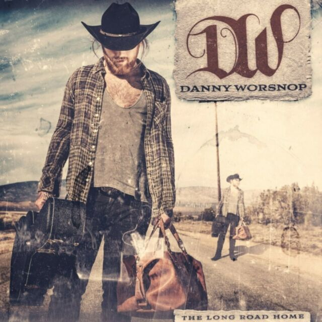 DANNY WORSNOP - LONG ROAD HOME,THE (LIMITED SIGNED EDITION) CD NEUF