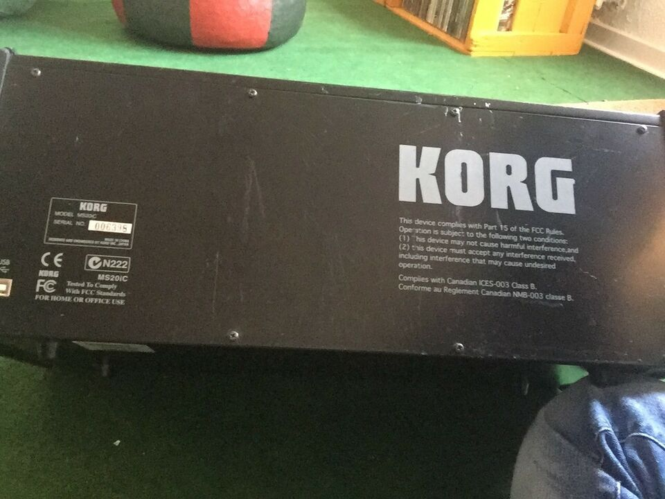 Controller/synthesizer, Korg Ms20ic