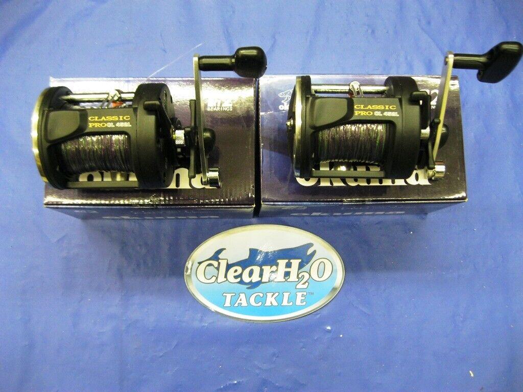 2PK Okuma Classic Pro CL-452L 27  3 Colors pre-bobinado Leadcore Trolling Cocherete