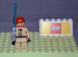 Lego-Star-Wars-Minifigure-Obi-Wan-Kenobi-7661-Authentic-USA-Seller