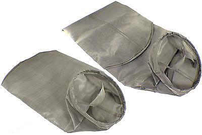 Welded Industrial Filter Sock Bags Plastic Ring Flange Water Liquid Oil WVO Fuel