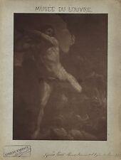 Epreuve d'Artsite sur charbon d'Adolphe Braun d'après un tableau de Guido Reni