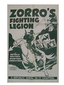 Zorros Fighting Legion 1939 Serial Dvd Complete Ebay