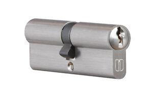 Tuerzylinder-Einbauschloss-Profilzylinder-Zylinder-Schloss-mit-3-Schluessel-NEU