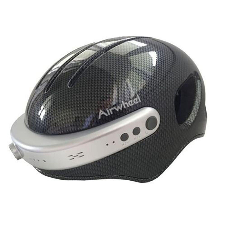 Airwheel C5 Smart Helmet HD Cam Wifi Headset blueetooth Large L Carbon Headphone