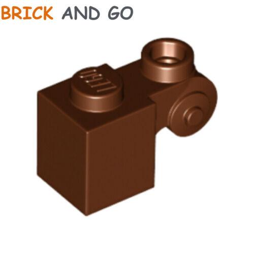 marron brown 2 x LEGO 20310 Brique Ornement Brick Modified 1x1 Scroll NEUF NEW