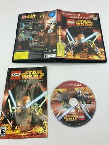 Sony PlayStation 2 PS2 Complete CIB TESTED Lego Star Wars The Video Game GH