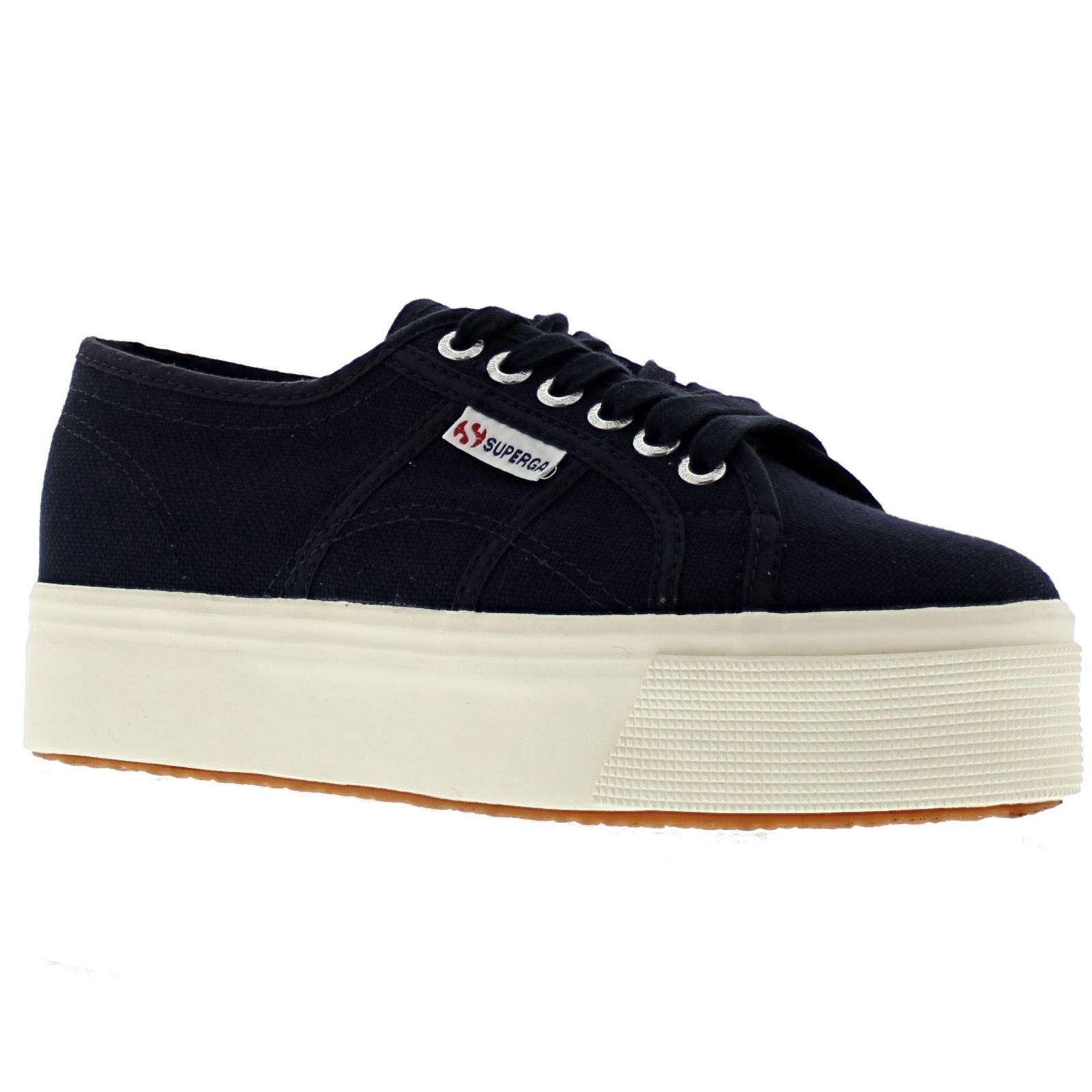 Descuento por tiempo limitado Superga 2790 Acotw Linea Up And Down Navy Womens Shoes