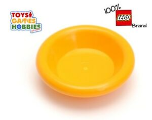 Lego 100 Yellow Mug Cup For Minifigure Figure City Picnic Food Friends