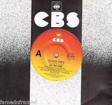 "WA WA NEE - SUGAR FREE - 7"" 45 VINYL RECORD - 1986"