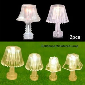 Accessories-Doll-House-Light-Table-Lamp-Bedroom-Floor-Lamps-Mini-Lighting