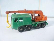 MATCHBOX LESNEY wheel crane serie no 30 grue mobile  Made in ENGLAND