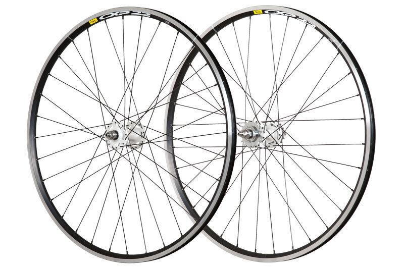 28  Bahnrad Laufradsatz Novatec Fixie ws   Mavic CXP Elite sw - 100063